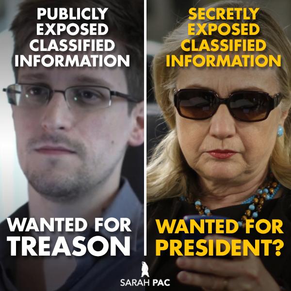 SnowdenForTreason-HillaryForPresident